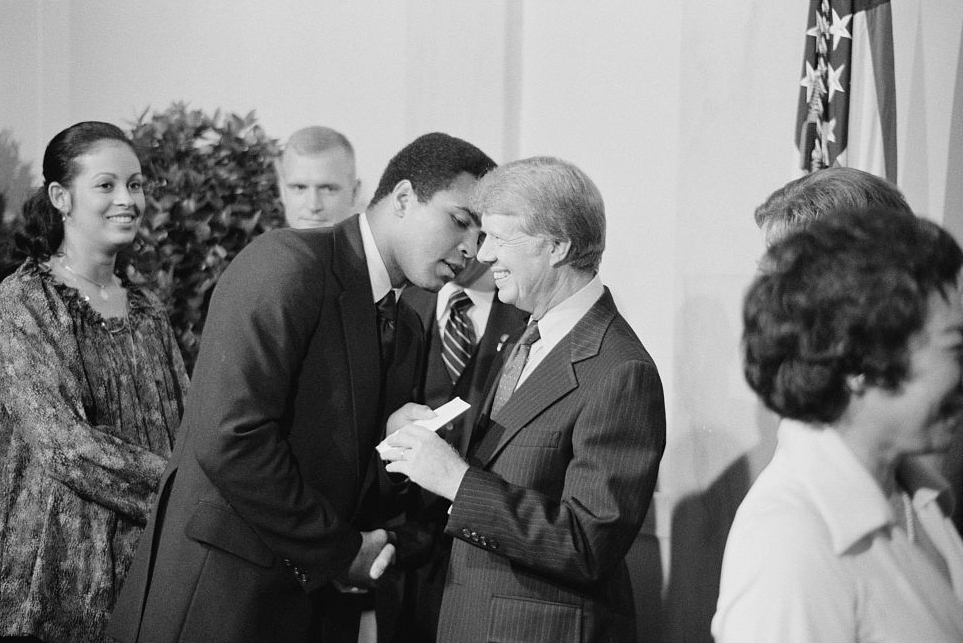 Muhammad Ali and President Carter