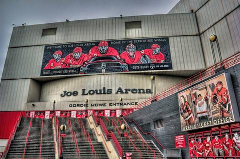 © Bmosh99 | Dreamstime.com - Joe Louis Arena Photo