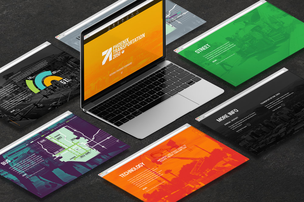 City of Phoenix T2050 – Branding, Campaign & Interactive  View Project