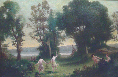 Nymphs in the Woods