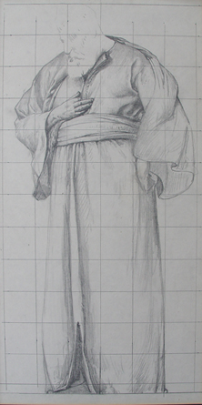 Study for figure St.Joseph *