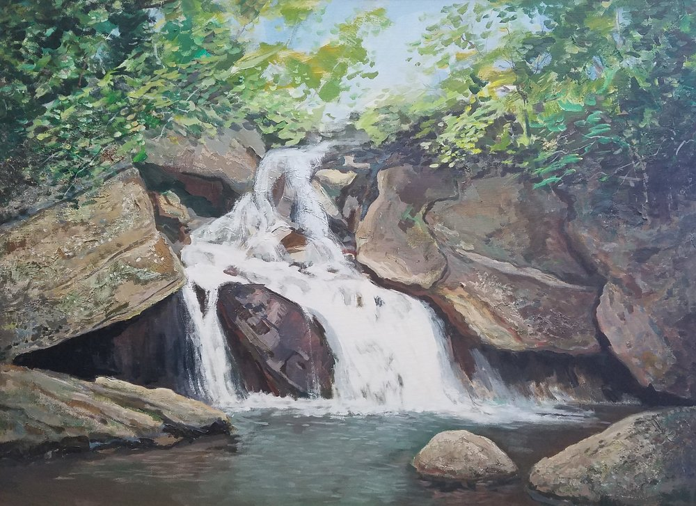 Boone Fork Trail Waterfalls *