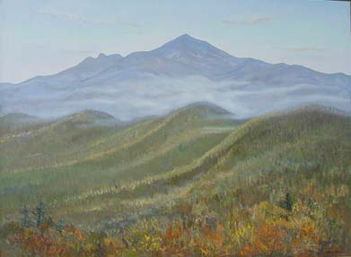 The Fog and Grandfather Mountain *