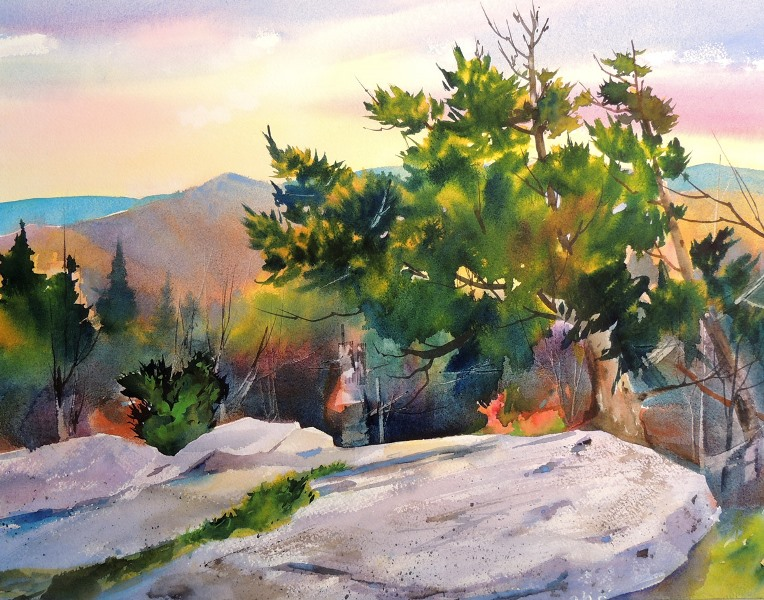 Profile Trail Flat Rock Study I *