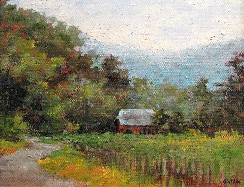 Red in Valle Crucis