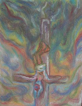 Peter, not as Christ crucified upside down for conveying message of Christ