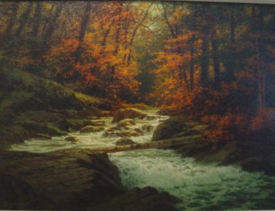 Autumn off the Blue Ridge Parkway