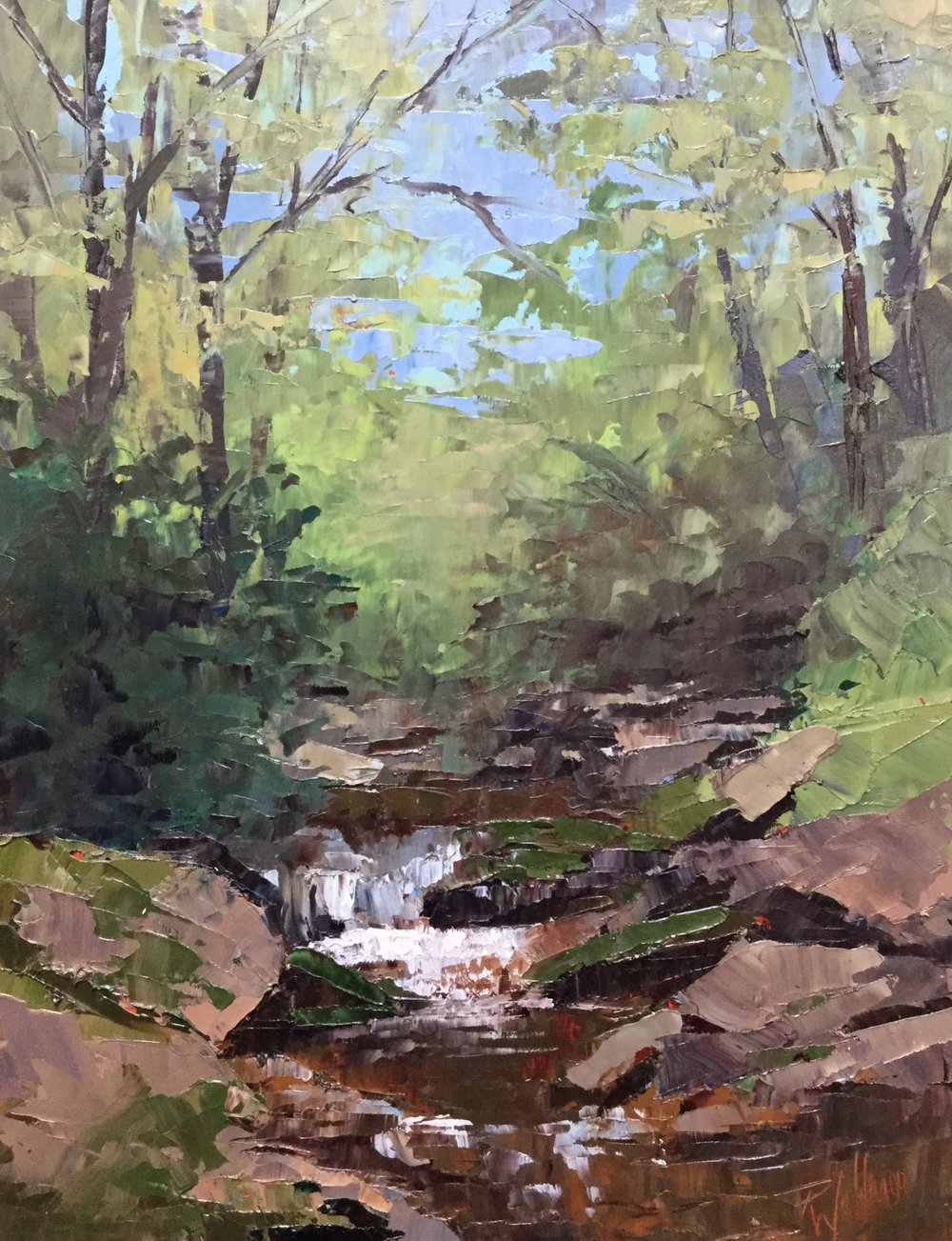 Creek Meditation