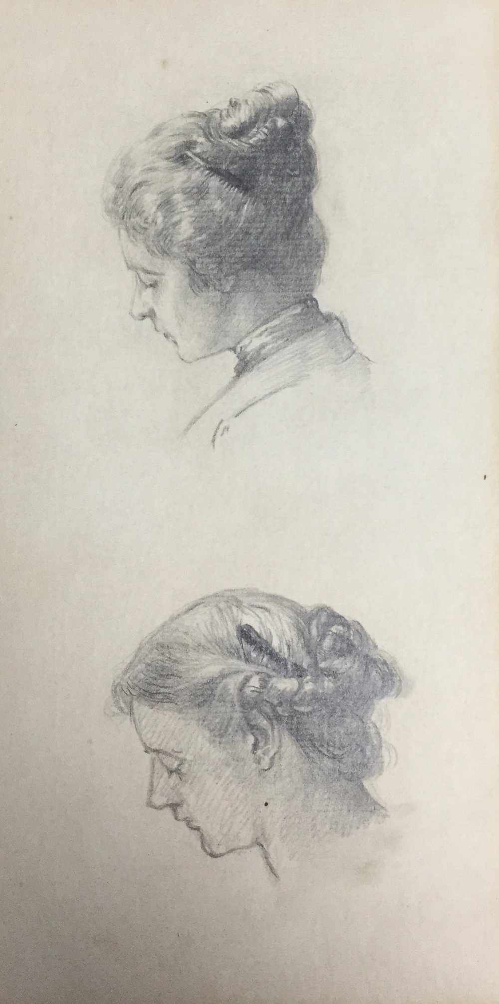 Women with Hair Up