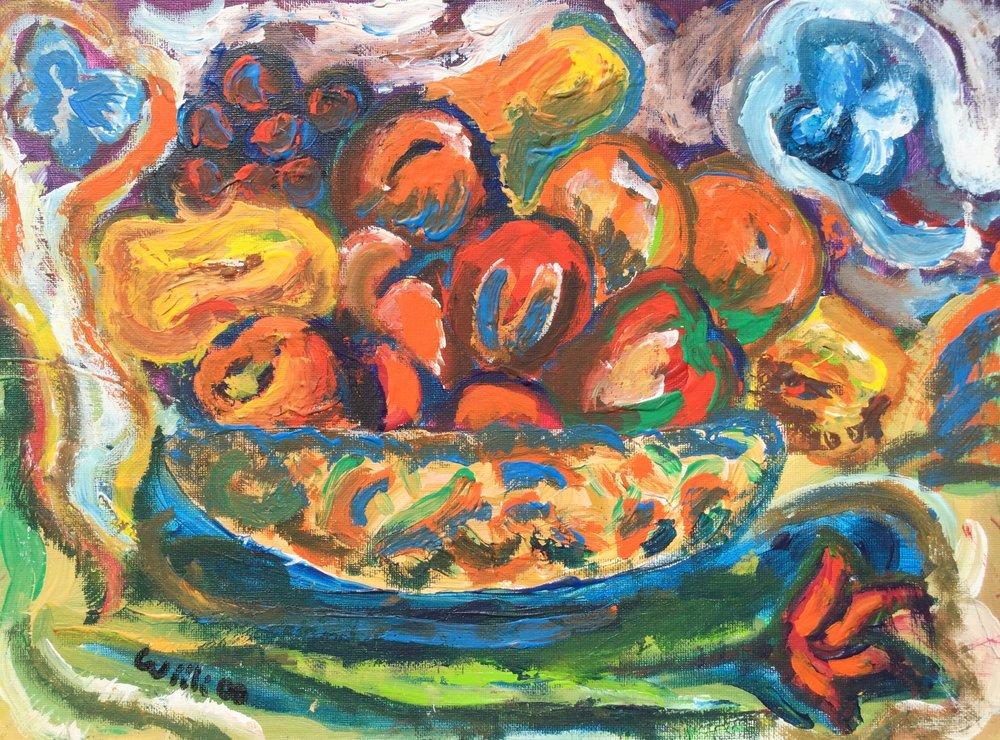 Fruit on Robin's Table