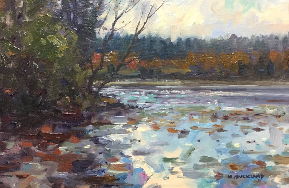 Autumn Stillness, Bass Lake