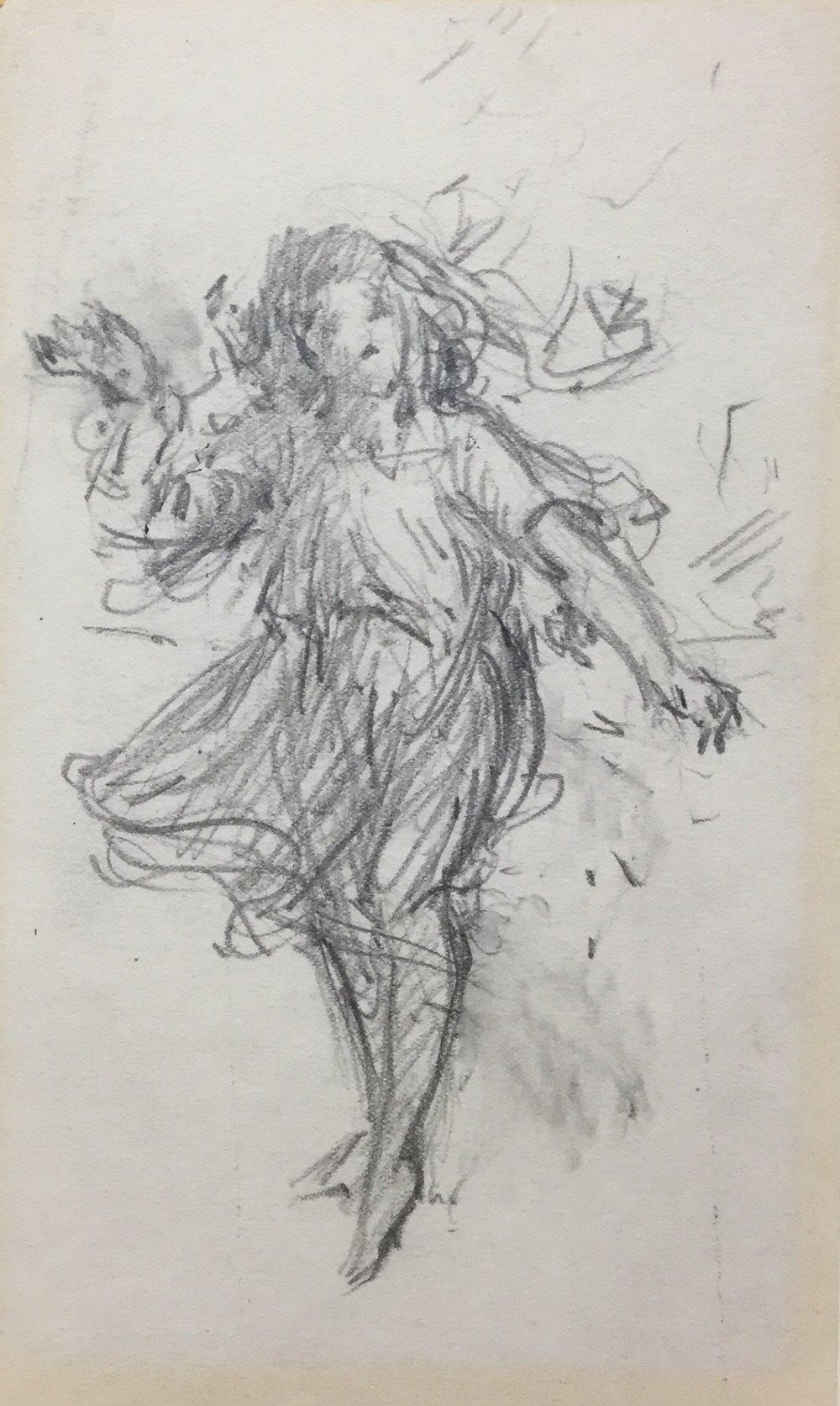 Sketch of Marjorie Daingerfield