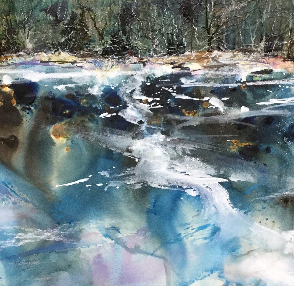 Sim's Pond Thaw *