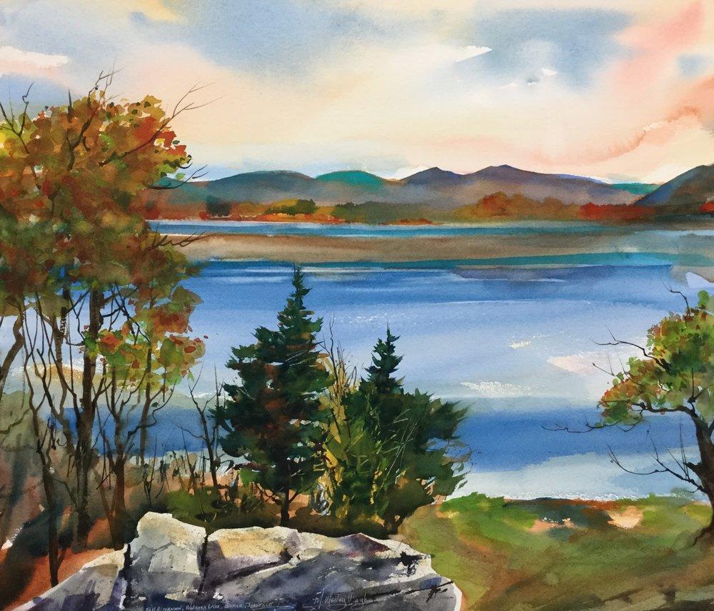 Fall Afternoon, Watauga Lake *