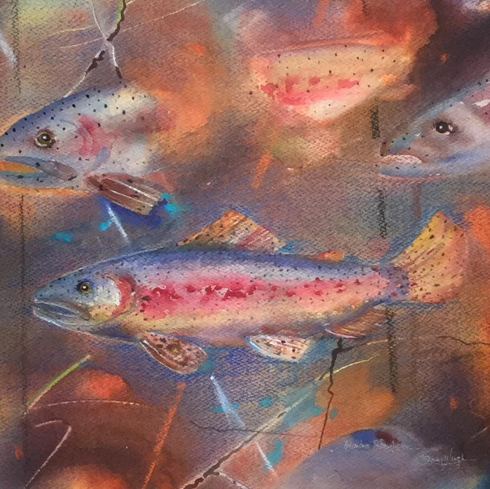 Rainbow Trout, Petroglyph *