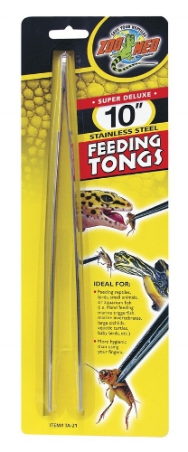 "$4.99 - ZooMed 10"" Stainless Steel Feeding TongsRegularly $9.99"