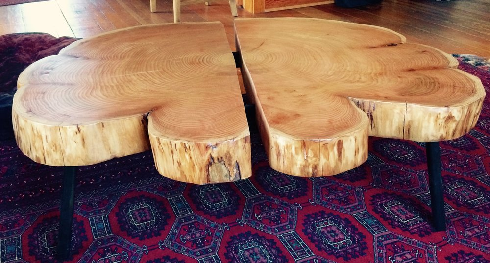 Cedar round coffee table.jpg