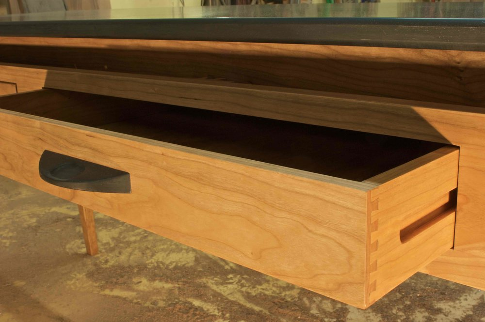 Cherry Table Base Drawer detail.jpg