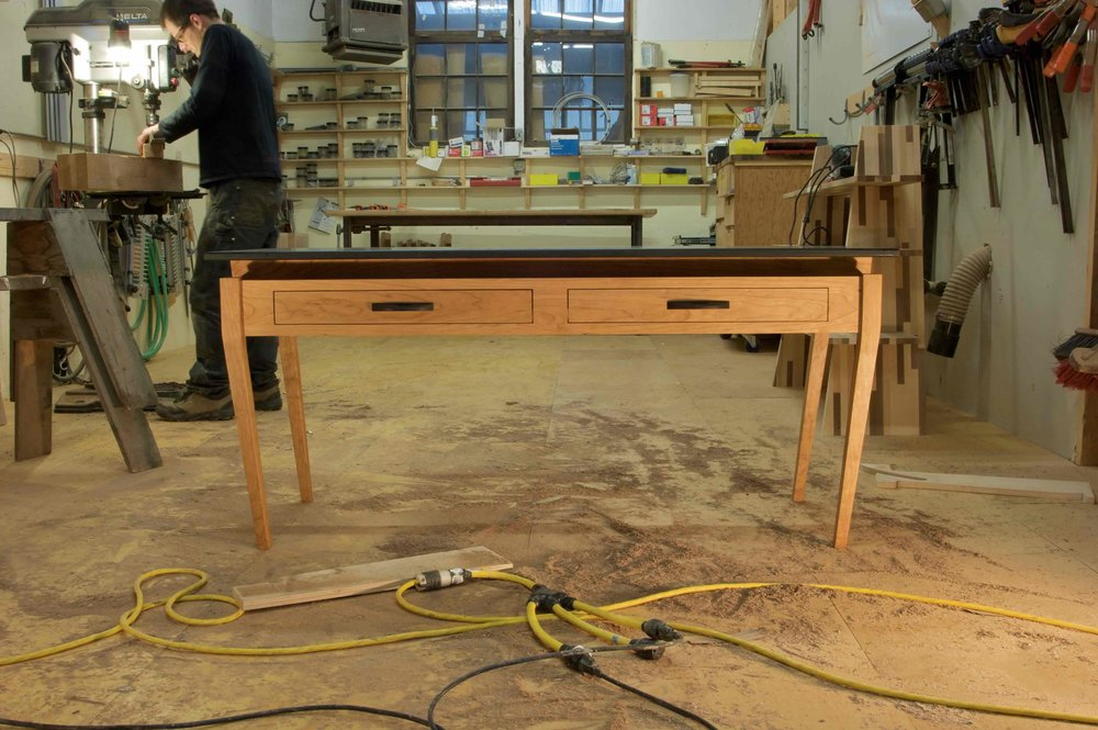 Cherry Table Base.w.Matt at press.jpg