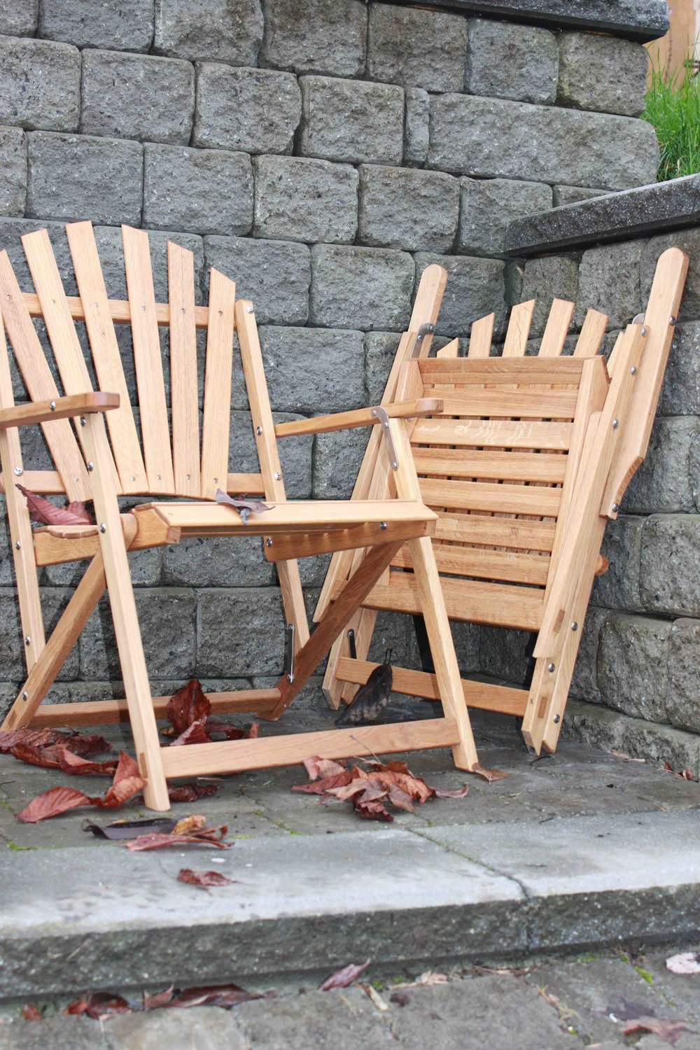 Oak Folding Chairs.one folded.jpg