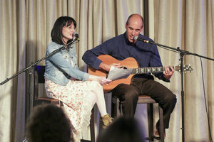 Meg Bernard and I performing at WPC 2016.