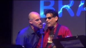 Ray Chaudhuri and I at the 2014 MDS Congress.