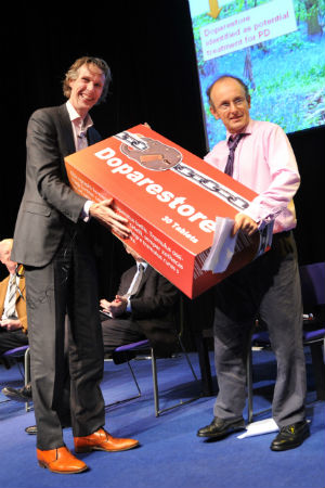 Dr. Bas Bloem and Tom Isaacs at WPC 2010 in Glasgow