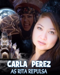 "CARLA PEREZ Best known for her role as the evil sorceress, Rita Repulsa on Mighty Morphin Power Rangers TV series, Carla began her career portraying RITA Repulsa back in 1993 to present day.  She has all together appeared in 75 episodes over several seasons which include:  Mighty Morphin Power Rangers, Power Rangers Zeo, Power Rangers in Space and Power Rangers DinoThunder. She also portrays Rita in ""Turbo: A Power Rangers Movie,"" Mighty Morphin Power Rangers-Ninja Quest (Video) and Lord Zedd's Monster Heads: The Greatest Villains of the Mighty Morphin Power Rangers (video short)."