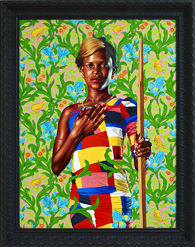 Kehinde Wiley, Saint John the Baptist in the Wilderness, 2013