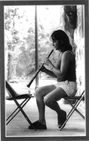 Sewanee Summer Music Festival, 1998, around the time I first starting taking oboe lessons.