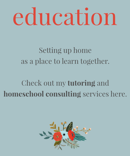 Jill Pulver | Love Your Home  Tutoring | Interior Styling | Homeschool Consulting