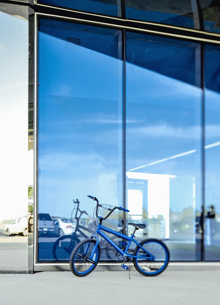 Copy of Castledowns - Blue bike