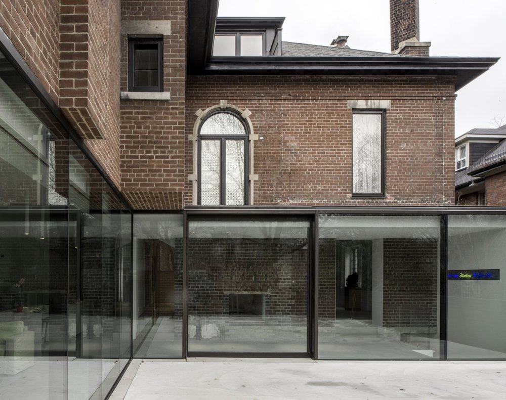 Copy of Copy of Copy of Street House - glass wall exterior