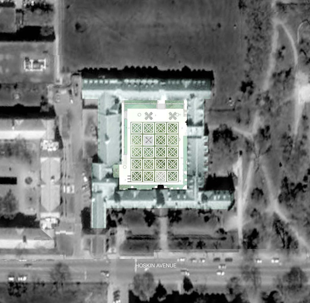 Copy of Copy of Trinity College Quadrangle - Site Plan