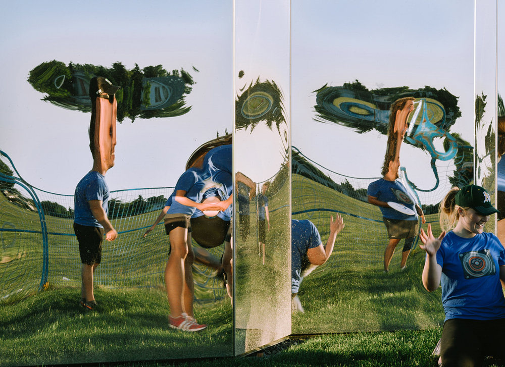 Castledowns - Mirror fun