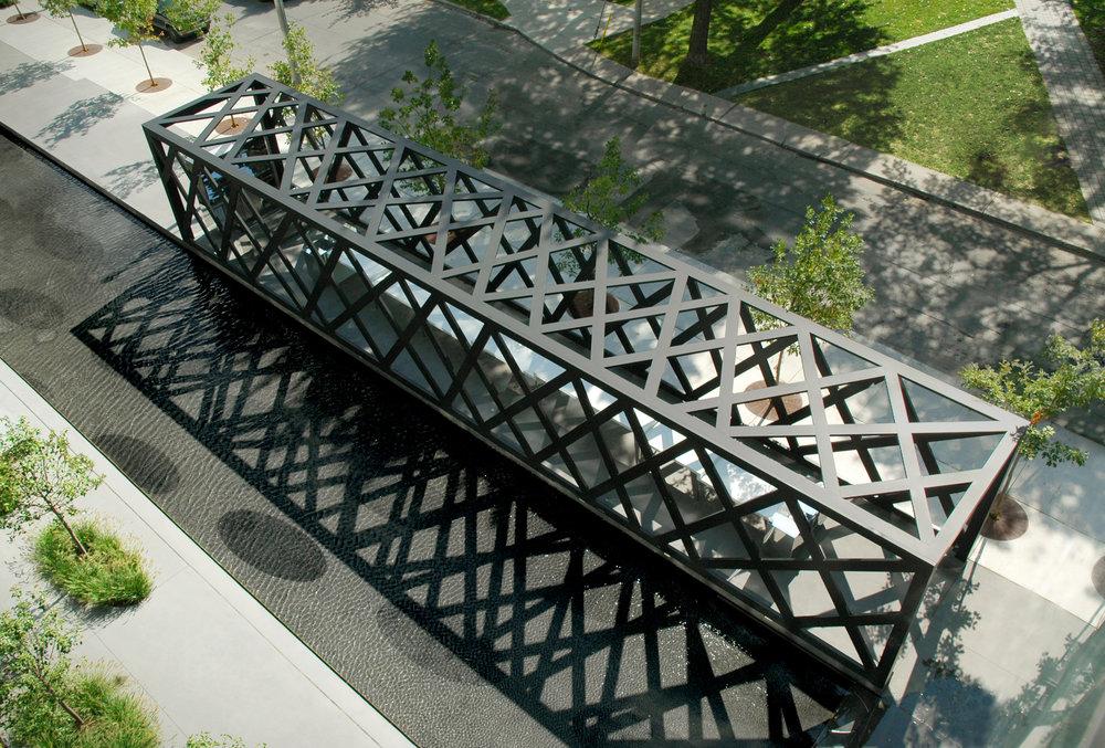 Thompson Hotel Pavilion - aerial