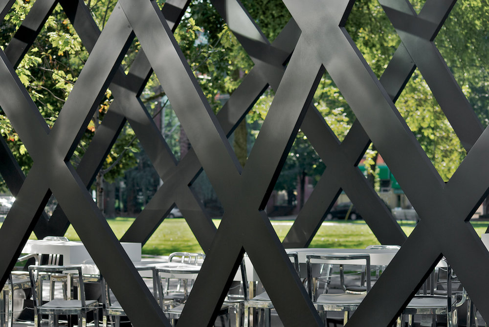Thompson Hotel Pavilion - facade detail