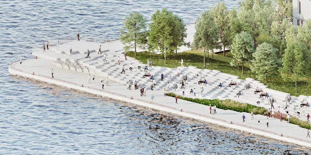 Pier 8 Promenade Park - Lookout