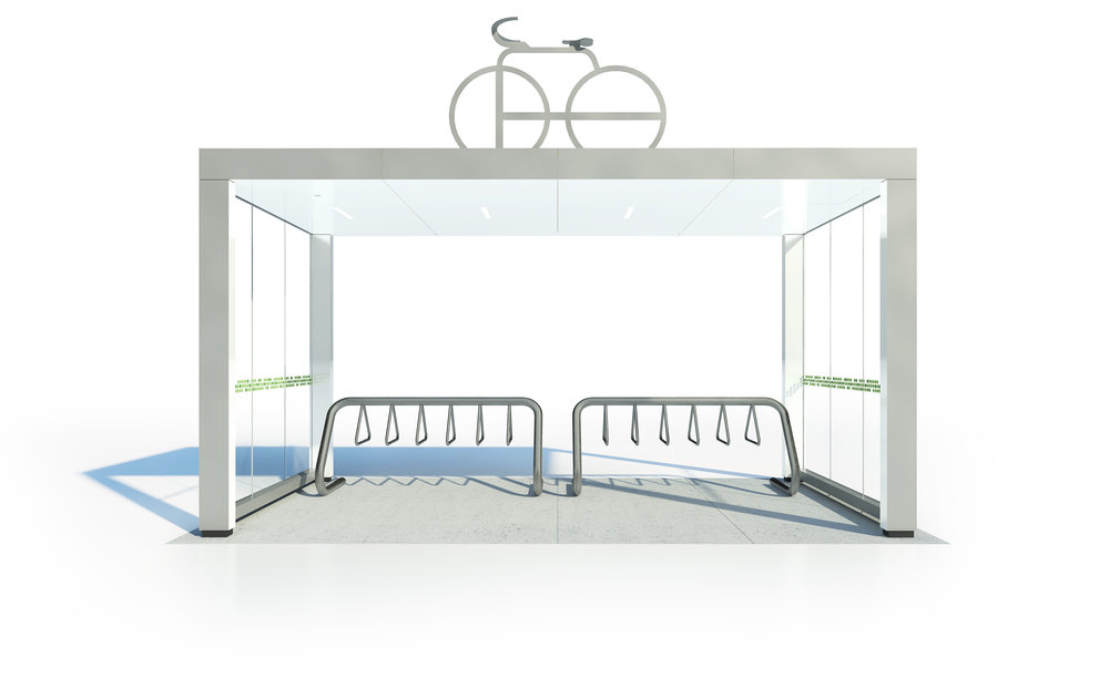 Type 4 - Small Bike Shelter