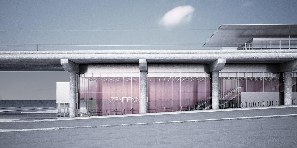 Eglinton Crosstown LRT DX - Centennial Station