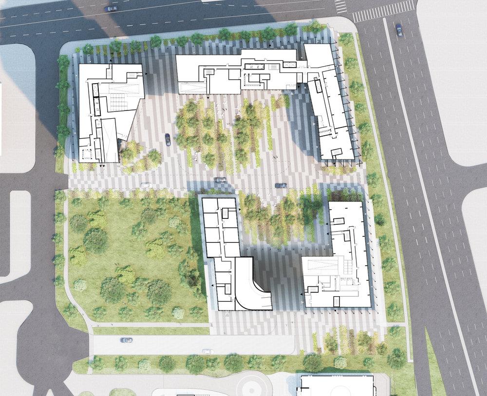 2450 Victoria Park - Site Plan