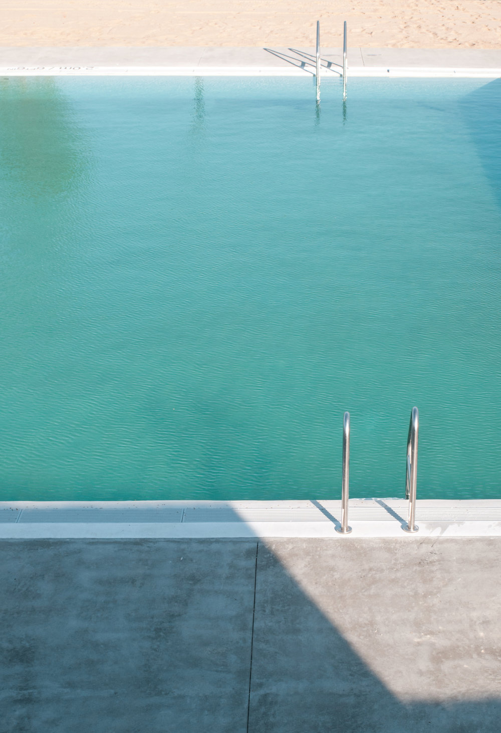 gh3 - Borden Park Natural Swimming Pool - Pool aerial