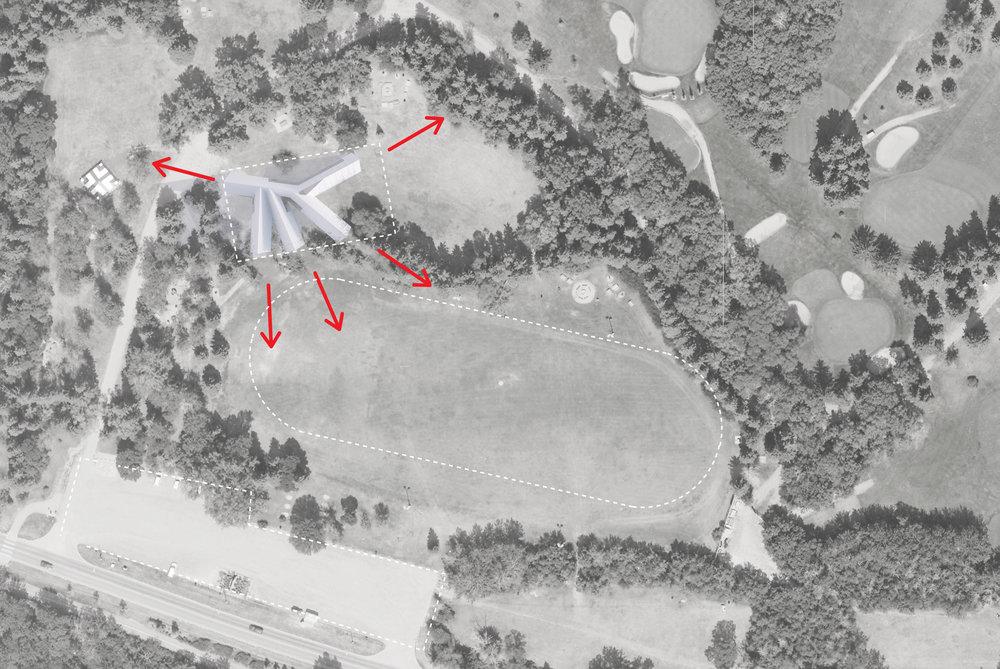 Victoria Park Pavilion - Site Plan