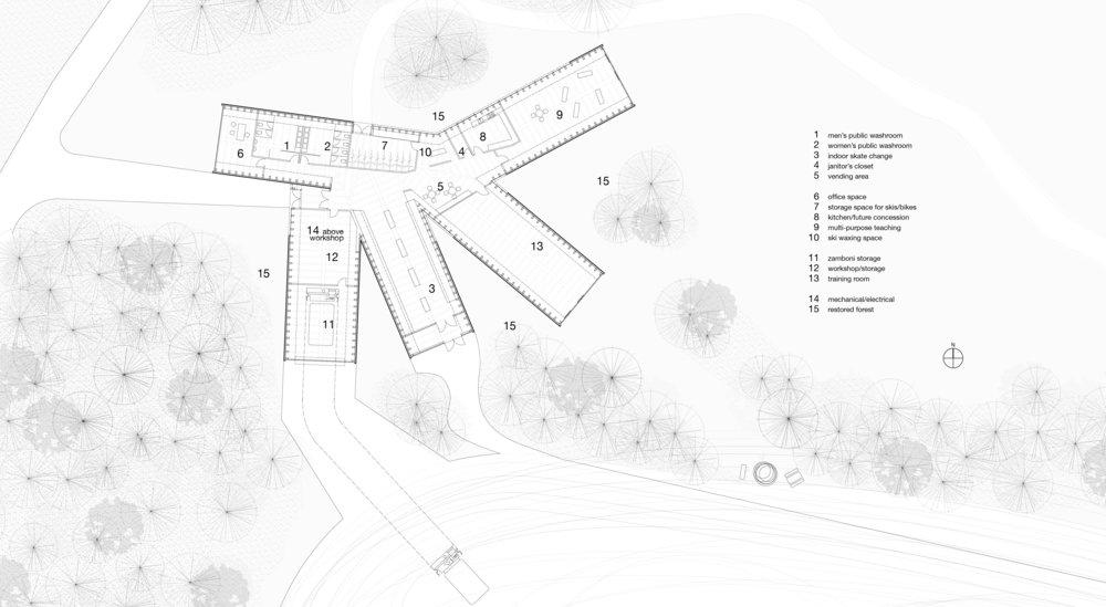 Victoria Park Pavilion - Plan