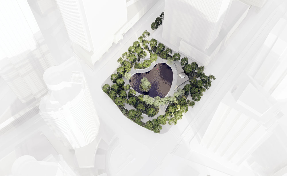 Love Park - Aerial