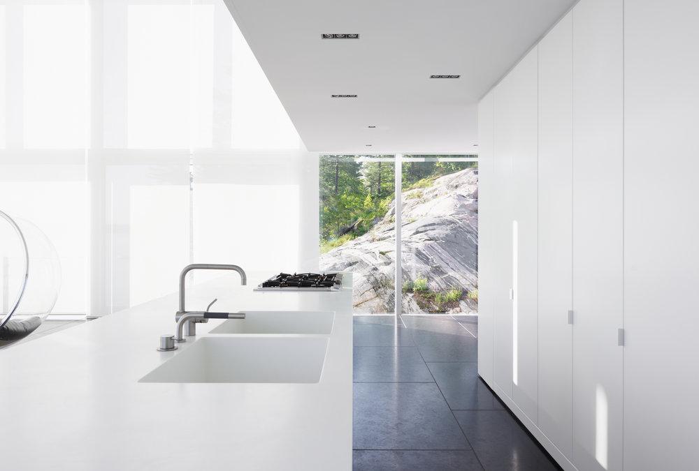 Glass Boathouse - Kitchen