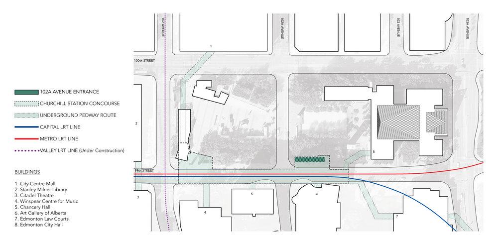 Churchill Station - Site Plan