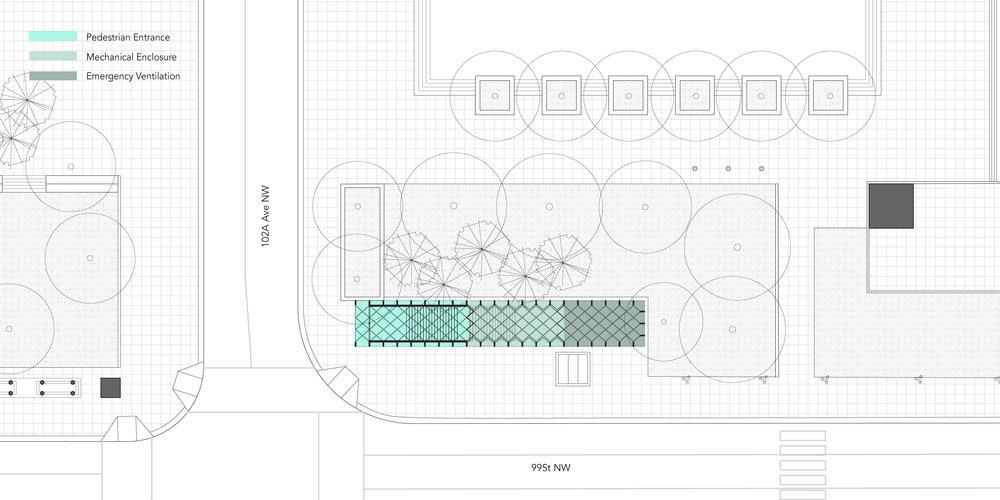 Churchill Station - Plan