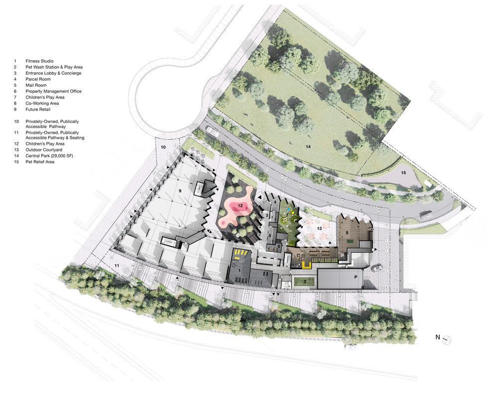 gh3 - Tretti Condominiums - Rendered Plan