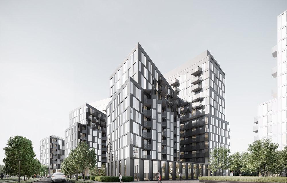 gh3 - Tretti Condominiums - Corner View